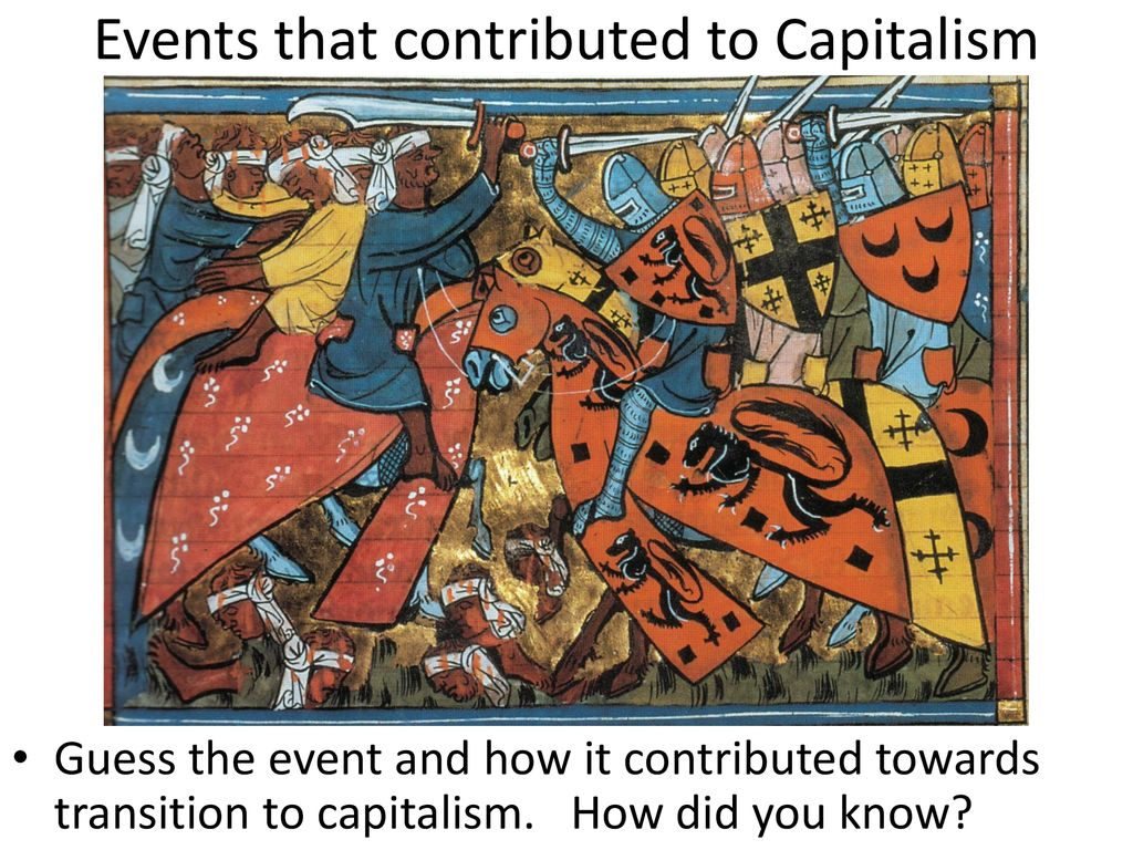 Events that contributed to Capitalism