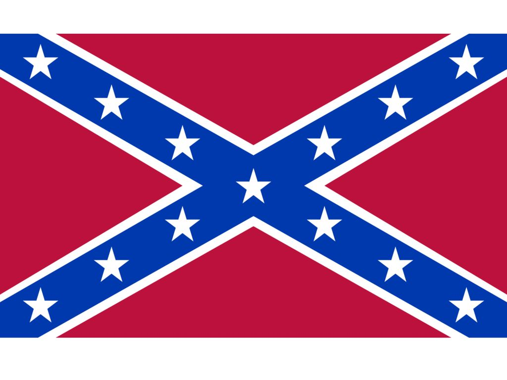 It's not hate it's heritage! Slogan to keep the Confederate flag flying