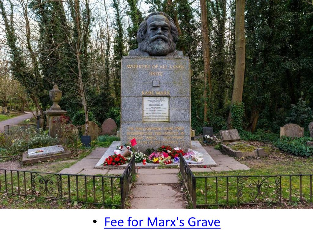 Fee for Marx s Grave