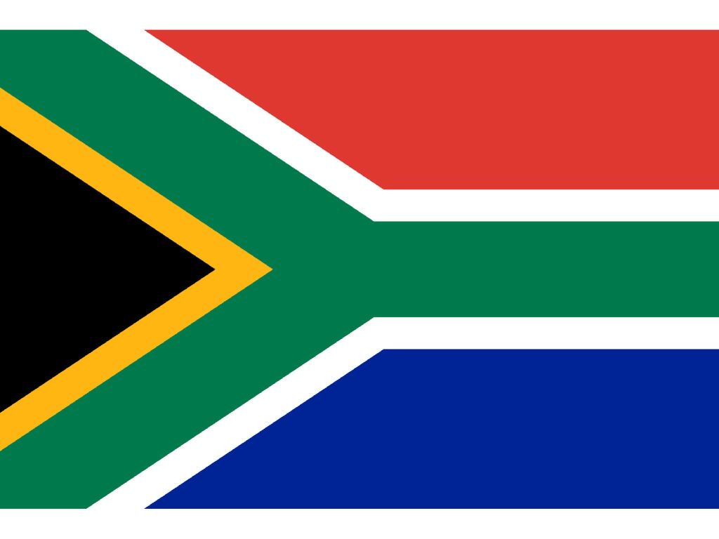 South Africa – Home to a recent World Cup, Nation was colonized by the Dutch called themselves the Boers