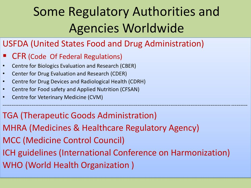 Role of Pharmacists in Drug Regulatory Affairs - ppt download