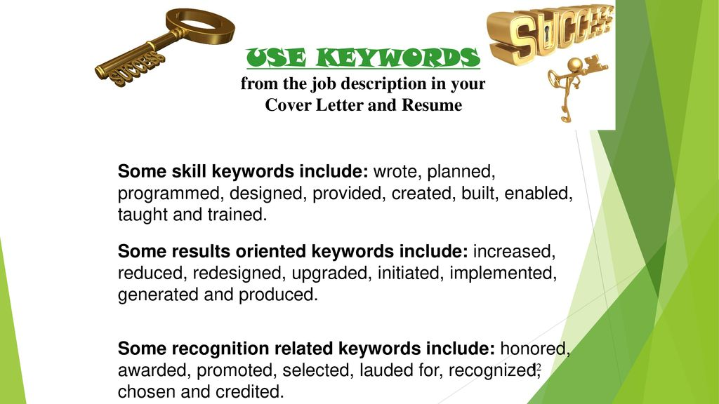 Keywords To Include In A Cover Letter from slideplayer.com