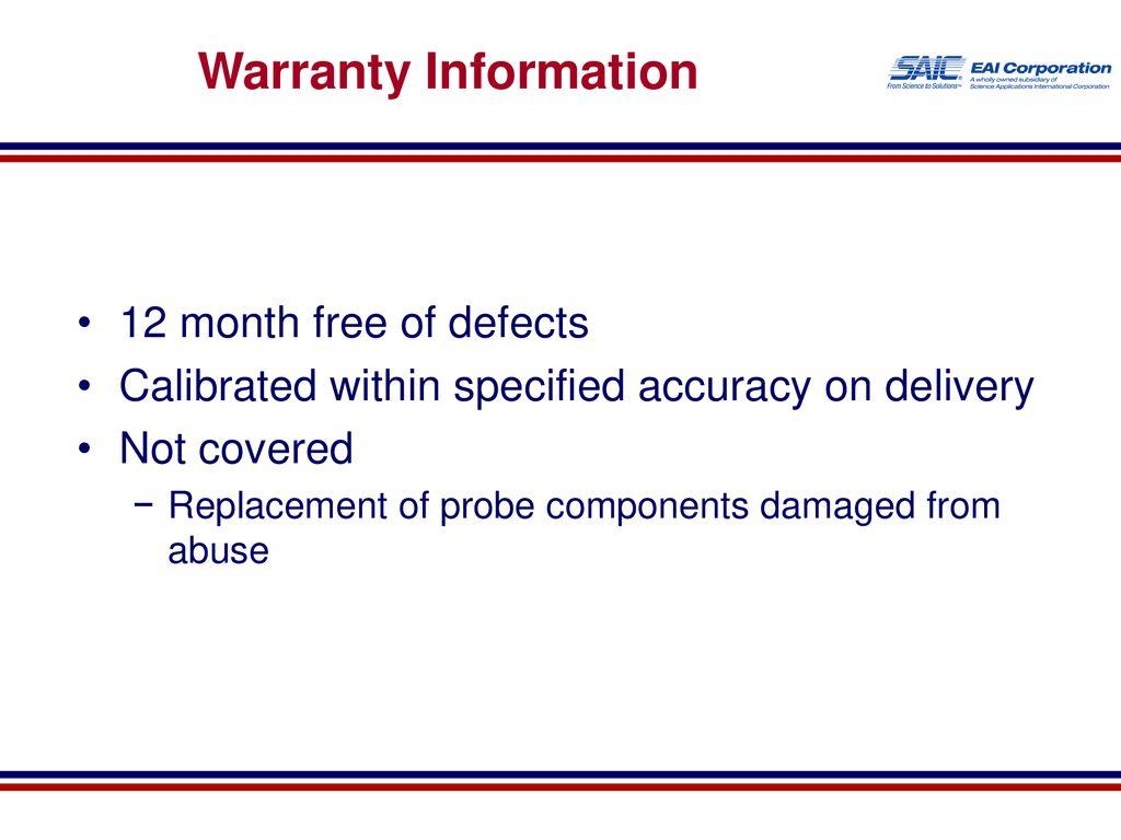 63 Warranty Information ...