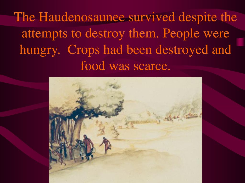 The Haudenosaunee survived despite the attempts to destroy them