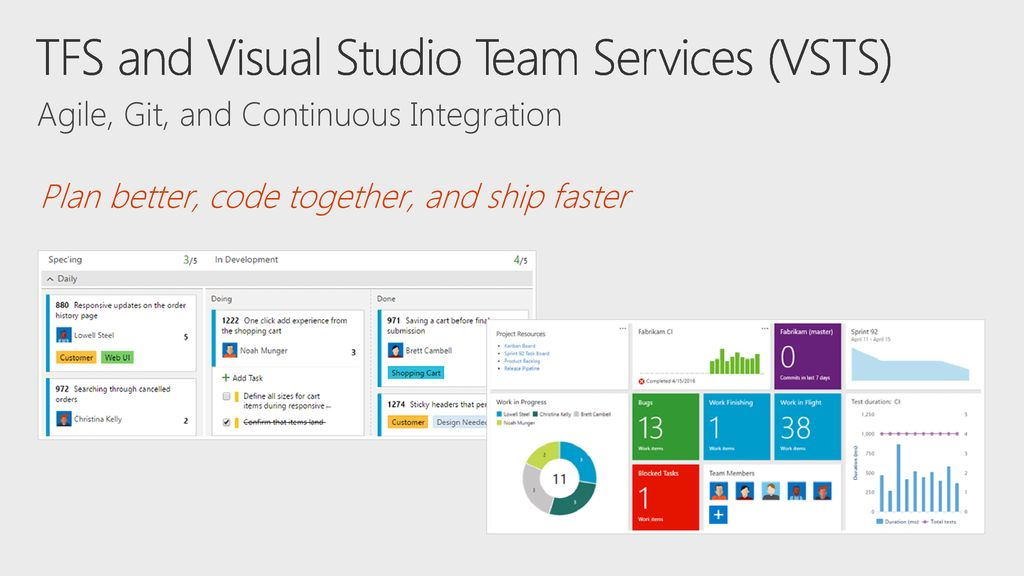 Agile Planning with Visual Studio Team Services (VSTS) - ppt