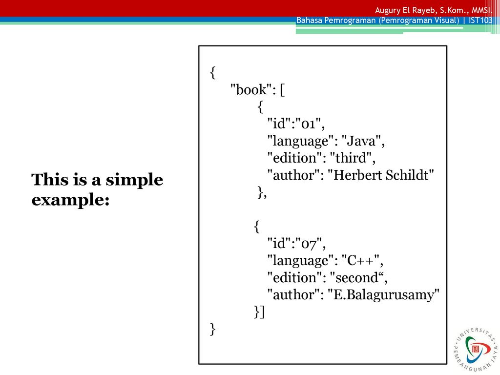 JSON Object and JSON Schema - ppt download