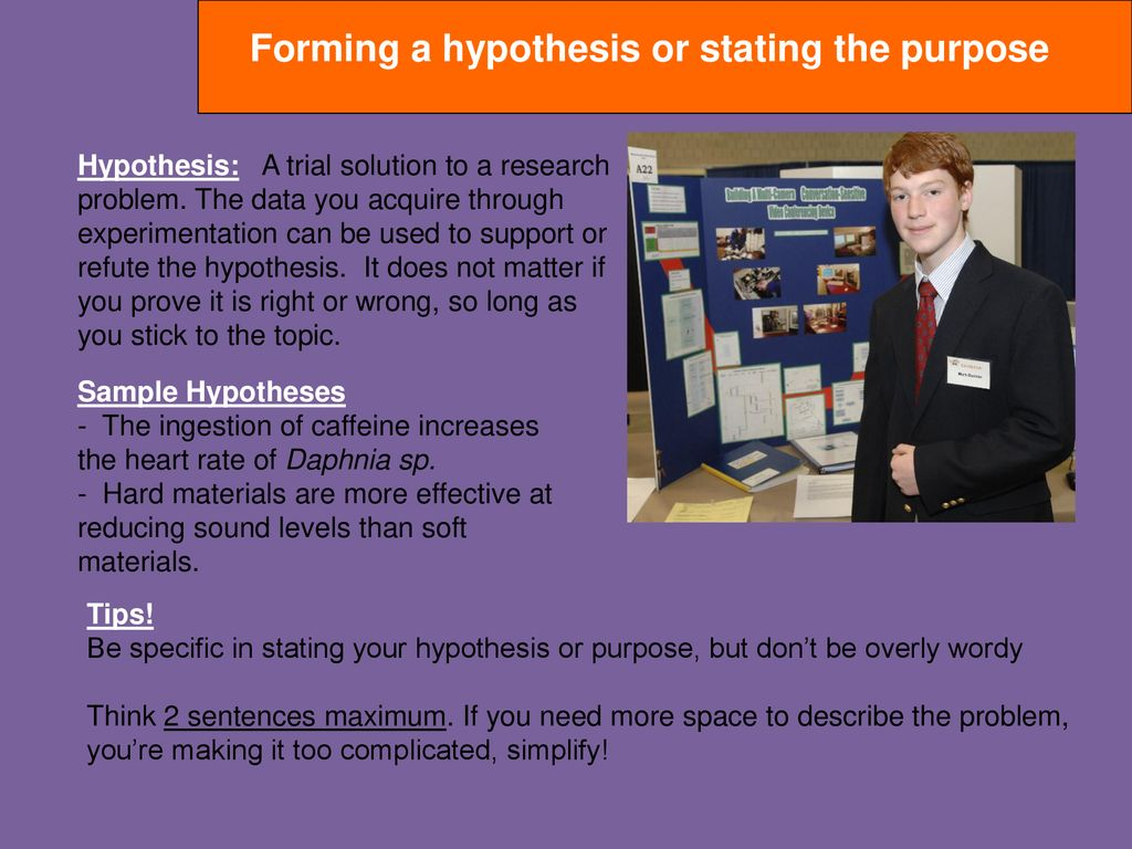 what should you do immediately after forming your hypothesis