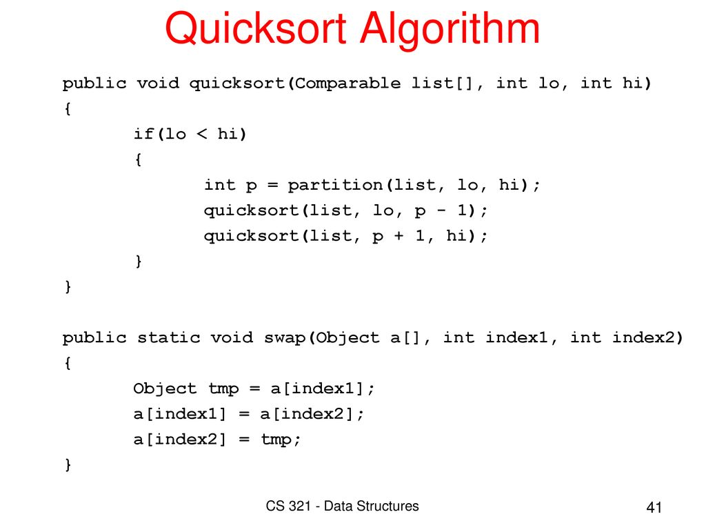 quicksort there s nothing in your head the sorting hat can t see