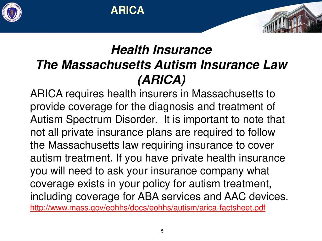 Autism Insurance Arica And Health >> Autism Commission Coordinating The Role Of State Agencies Resources