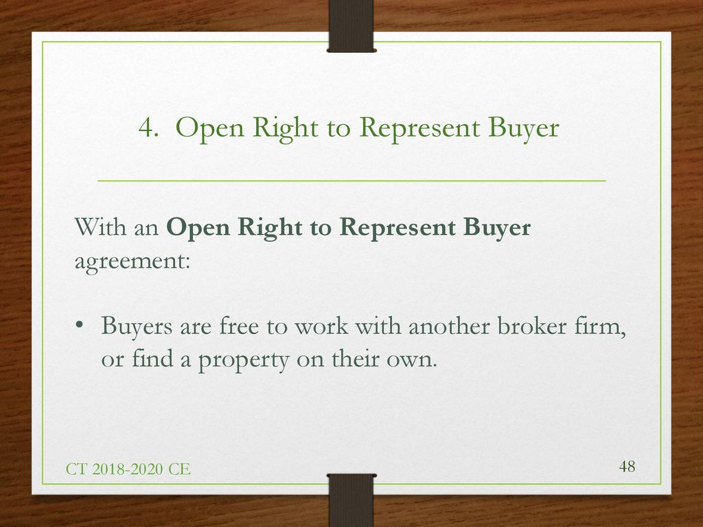 Connecticut Real Estate Agency Law Review And Fair Housing Part One
