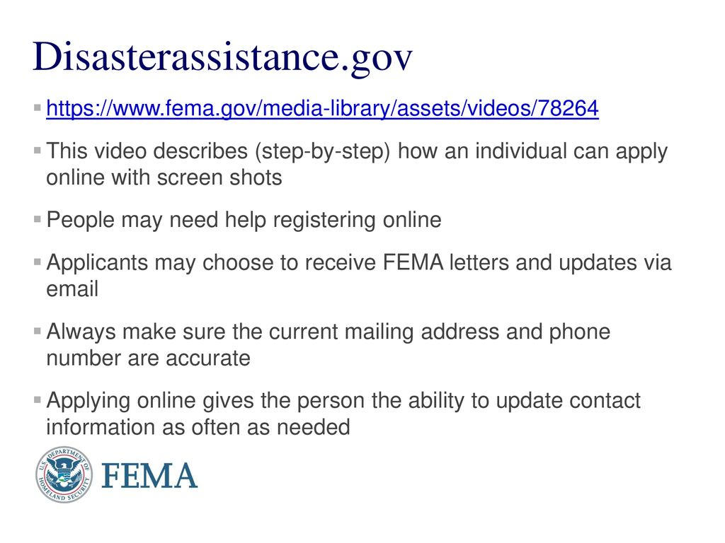 FEMA Assistance 102 How to help Survivors From Puerto Rico