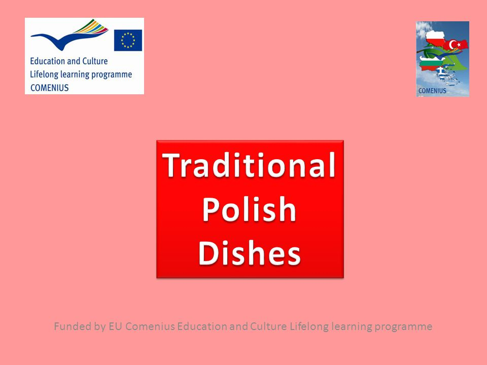 Traditional Polish Dishes