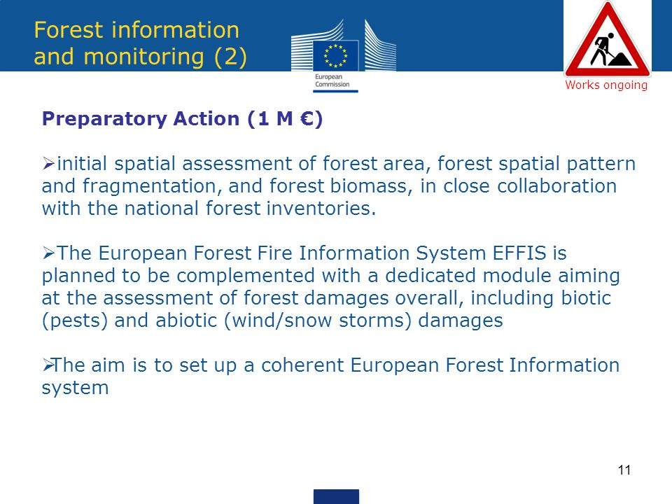 Forest information and monitoring (2)