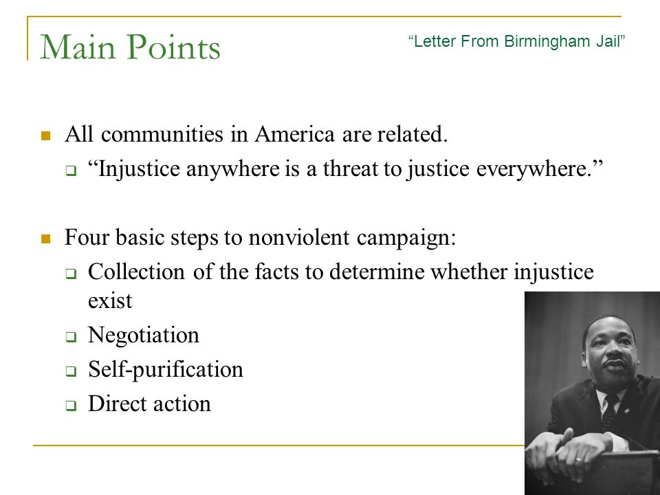 Main Points All communities in America are related.
