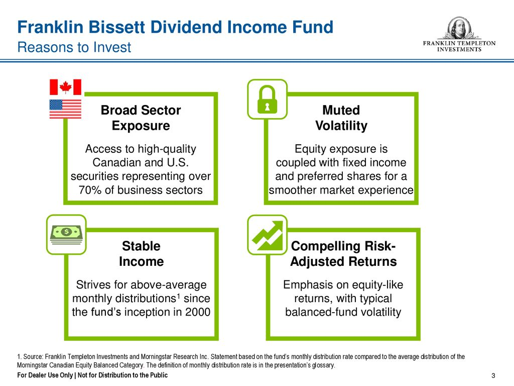 franklin bissett dividend income fund income and capital