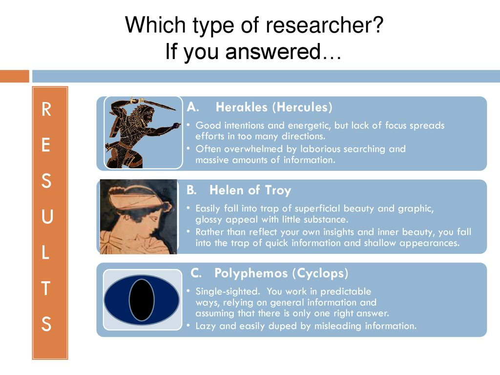 Which type of researcher