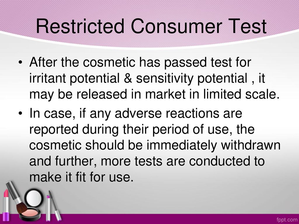 Toxicology in Cosmetics - ppt download