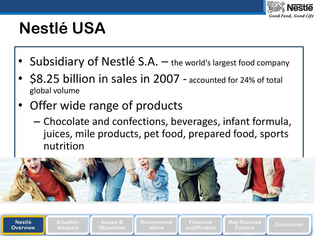 key success factors of nestle company