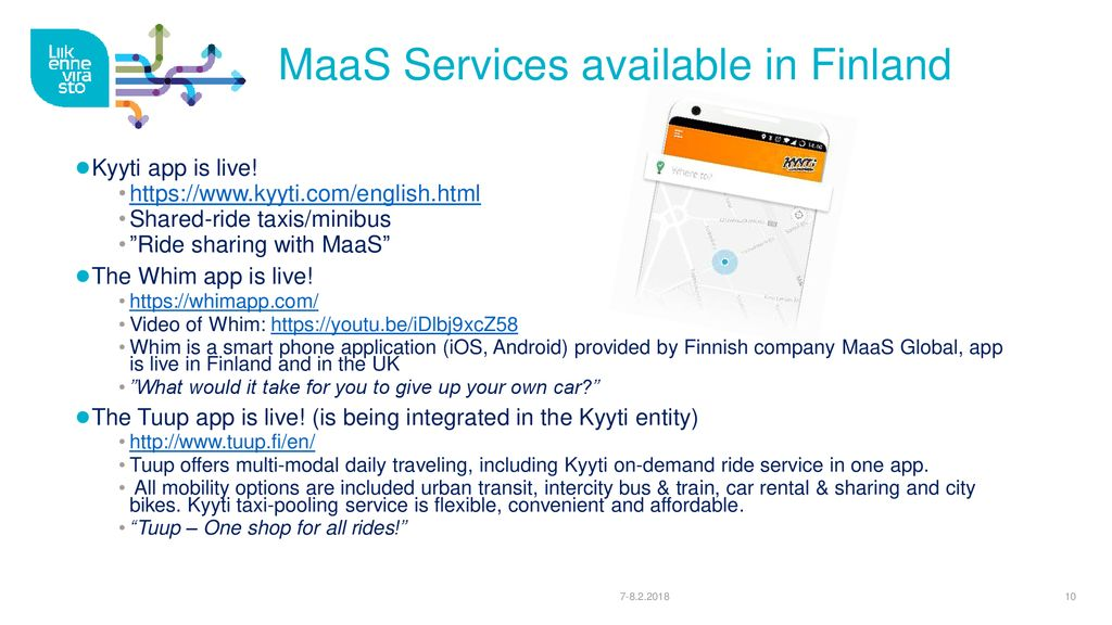 Mobility as a Service (MaaS) - ppt download