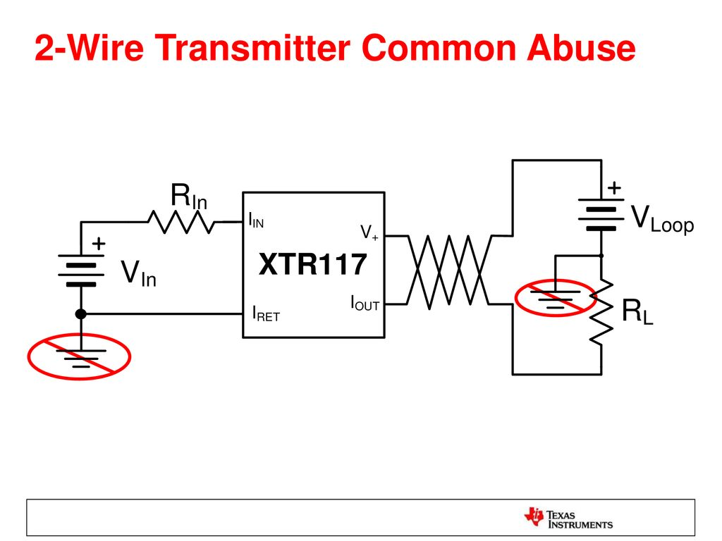 2 Wire Vs 3 Transmitters Ppt Download 20 Ma Current Loop Measuring Circuits Basics I Industrial 17
