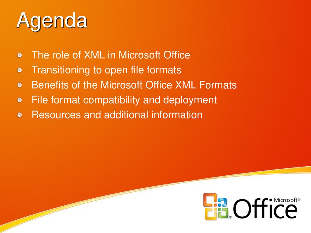Microsoft Office XML Formats - ppt download
