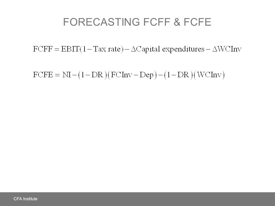 relationship between fcfe and fcff portland