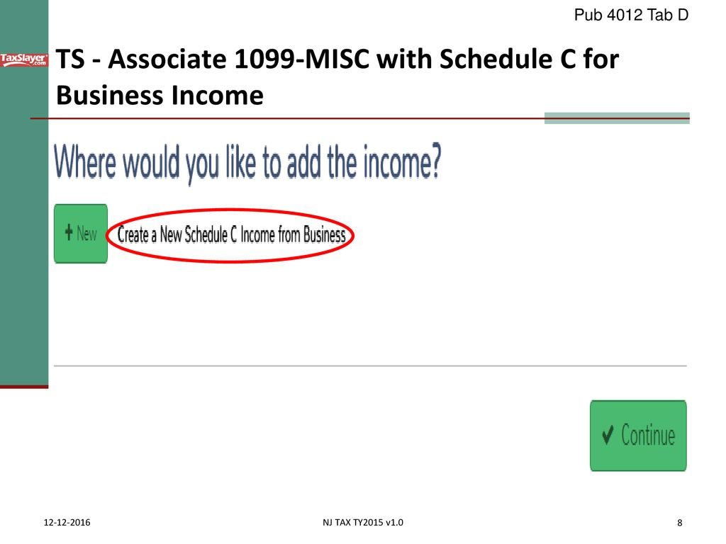 Business Income Schedule C Ppt Download