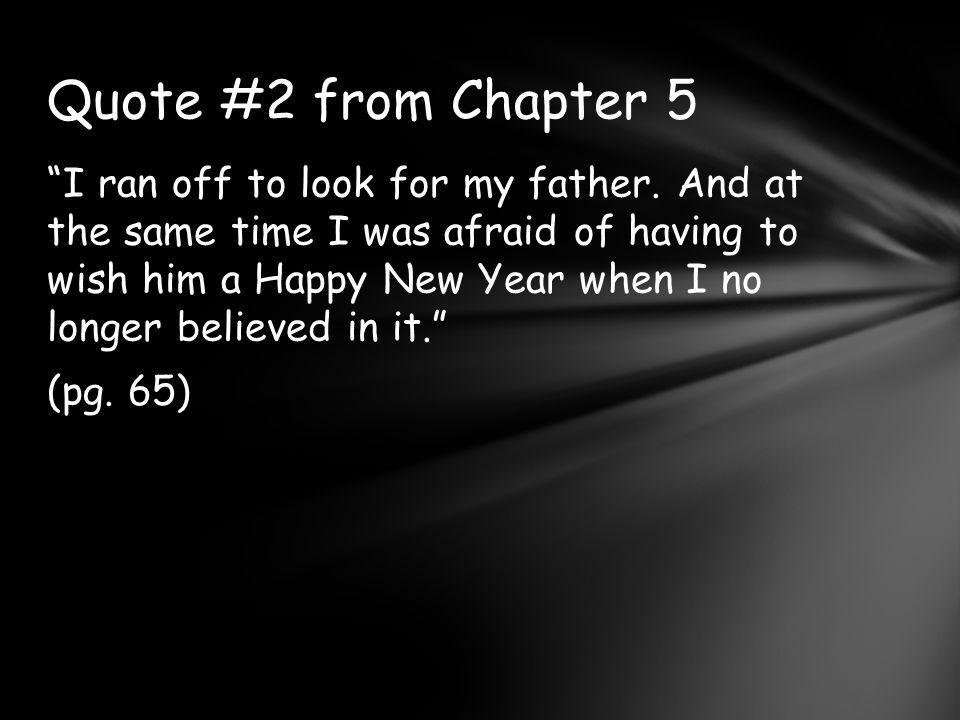 Quote #2 from Chapter 5