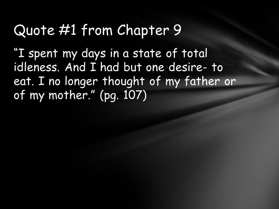 Quote #1 from Chapter 9