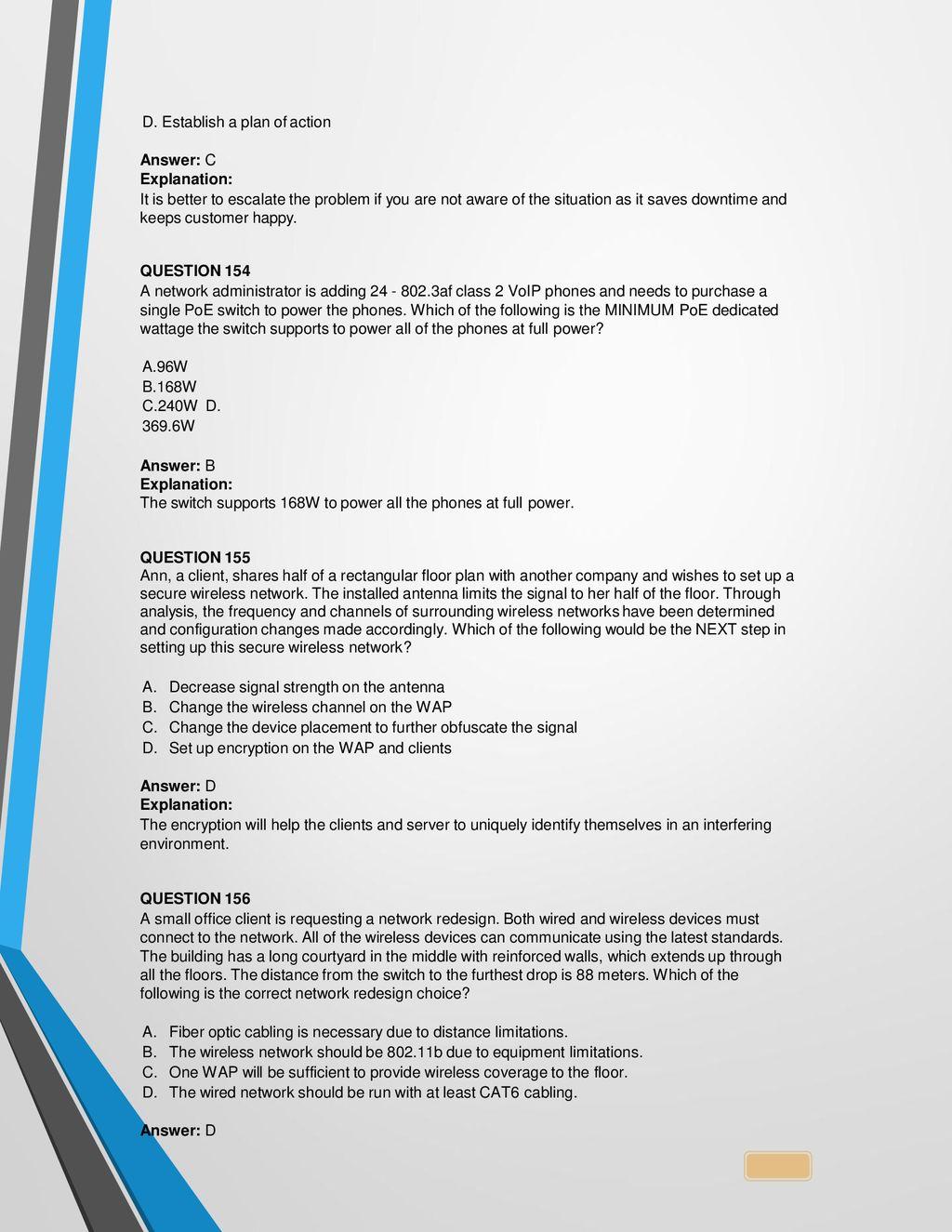 Vendor: CompTIA Exam Code: N ppt download