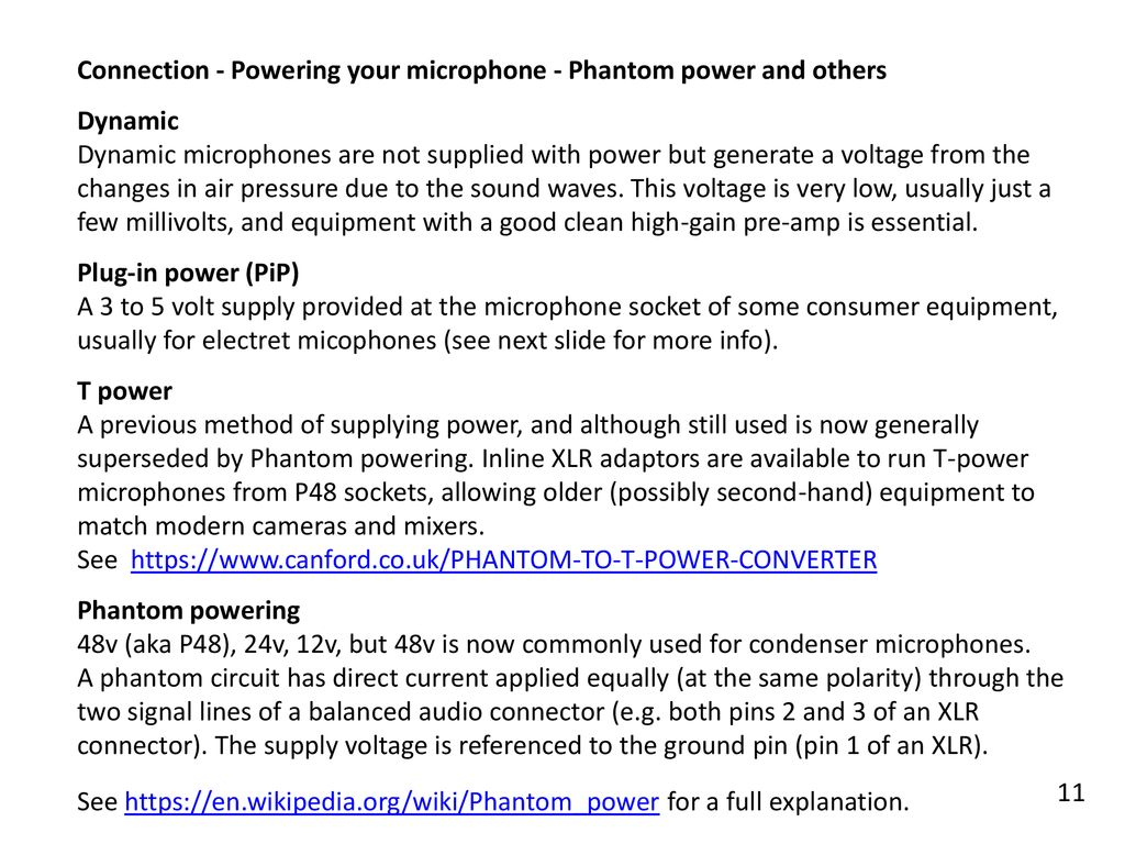 Compiled By Pete Heaven January Ppt Download Electret Microphone To Xlr Wiring Together With Sc4060 Dpa Microphones Connection Powering Your Phantom Power And Others