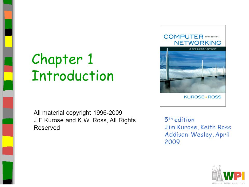 Chapter 1 Introduction All material copyright 1996-2009
