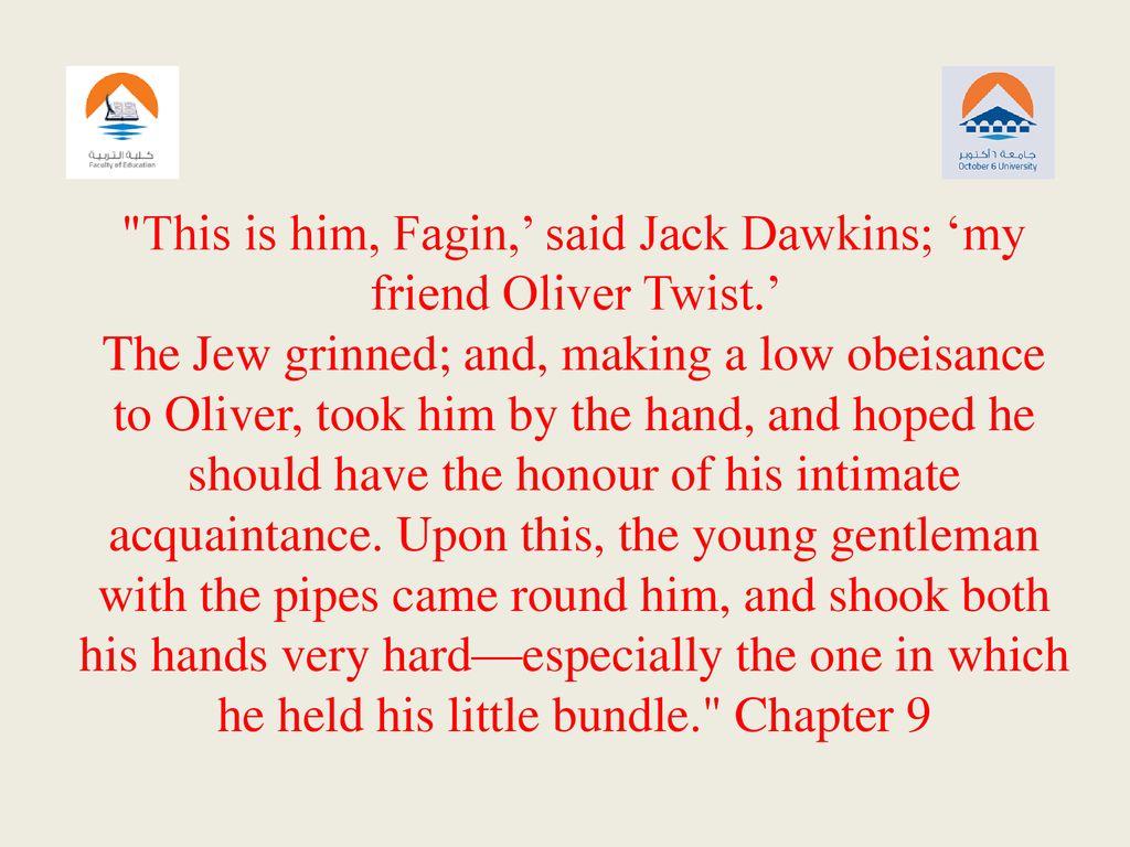 jack dawkins oliver twist