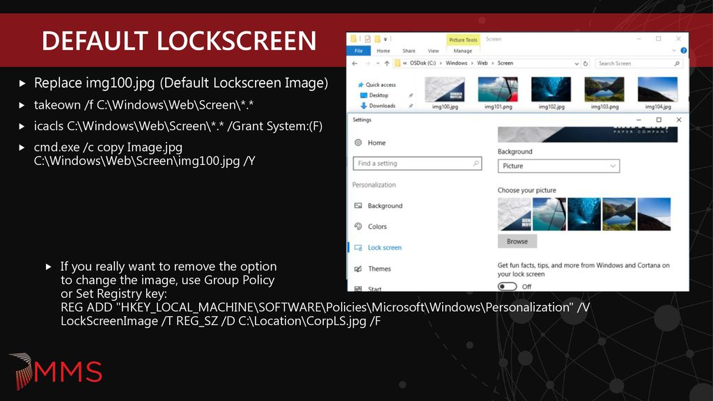 Customizing Windows 10 Part 1 & 2 - ppt download