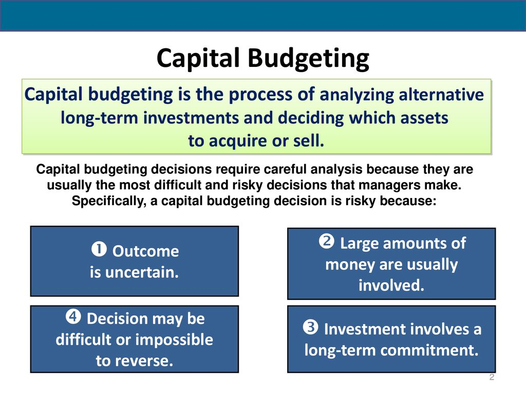 the most difficult part of the capital budgeting process is