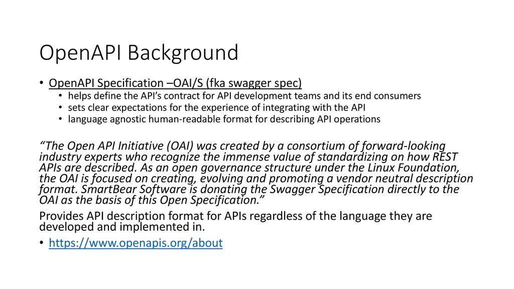 API Documentation Guidelines - ppt download