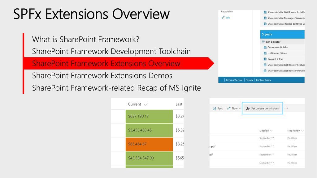 SharePoint Framework Extensions - ppt download
