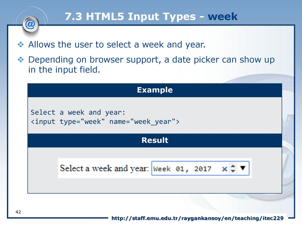 Using the html5 tag in asp.