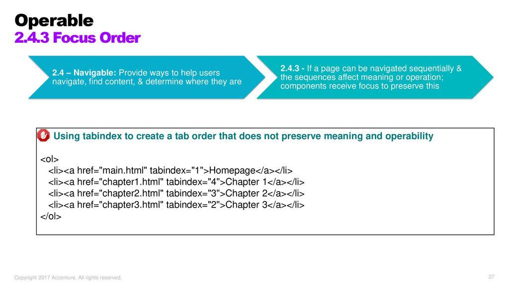 Understanding the WCAG ppt download