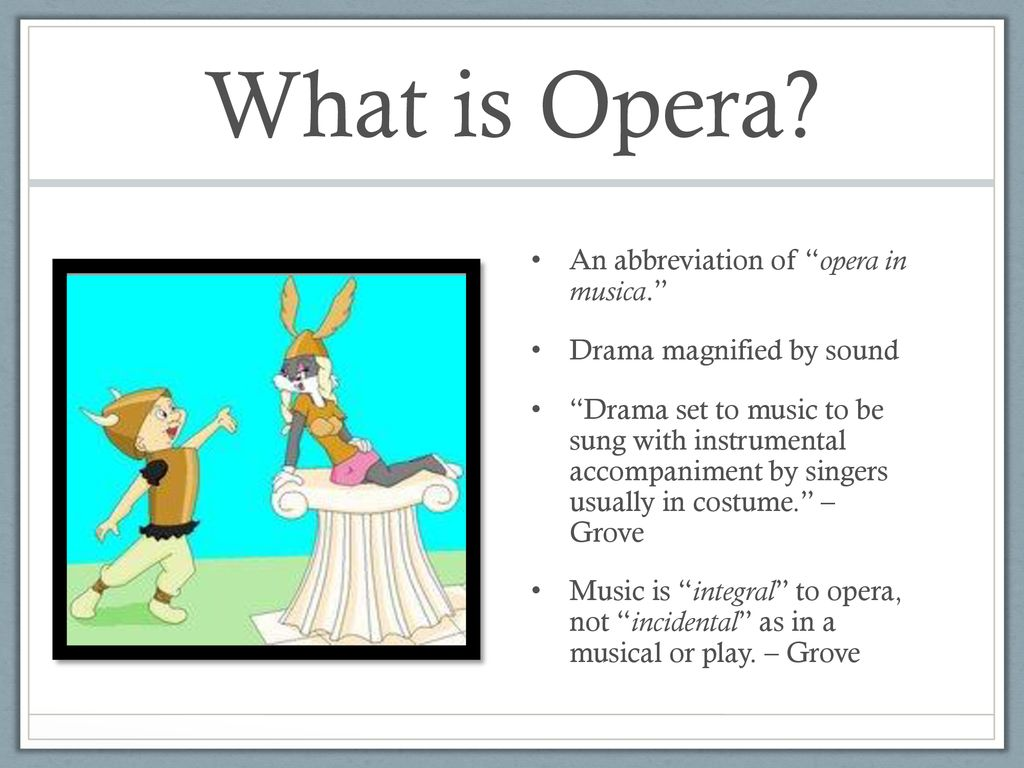 Interdisciplinary genres and music's voice in drama, comedy