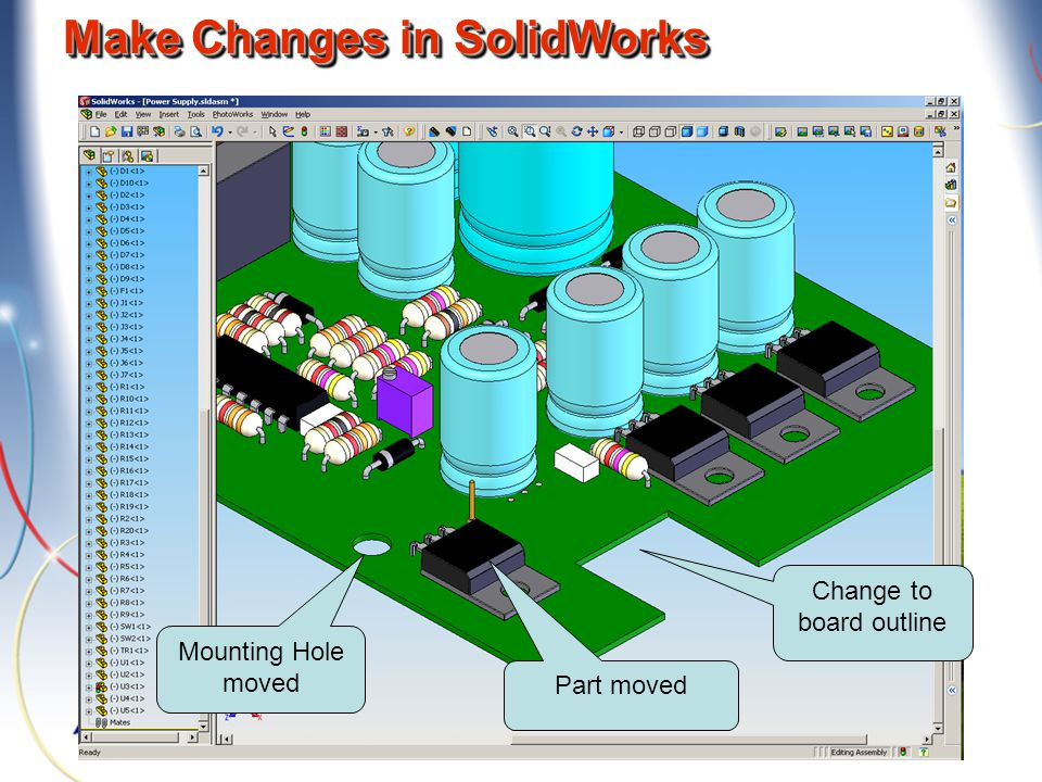 Make Changes in SolidWorks