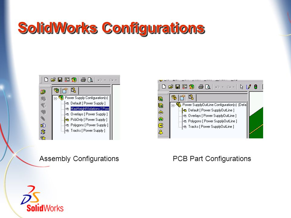 SolidWorks Configurations