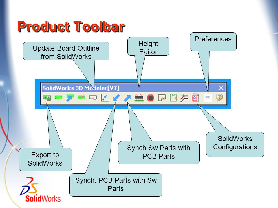Product Toolbar Preferences Height Editor