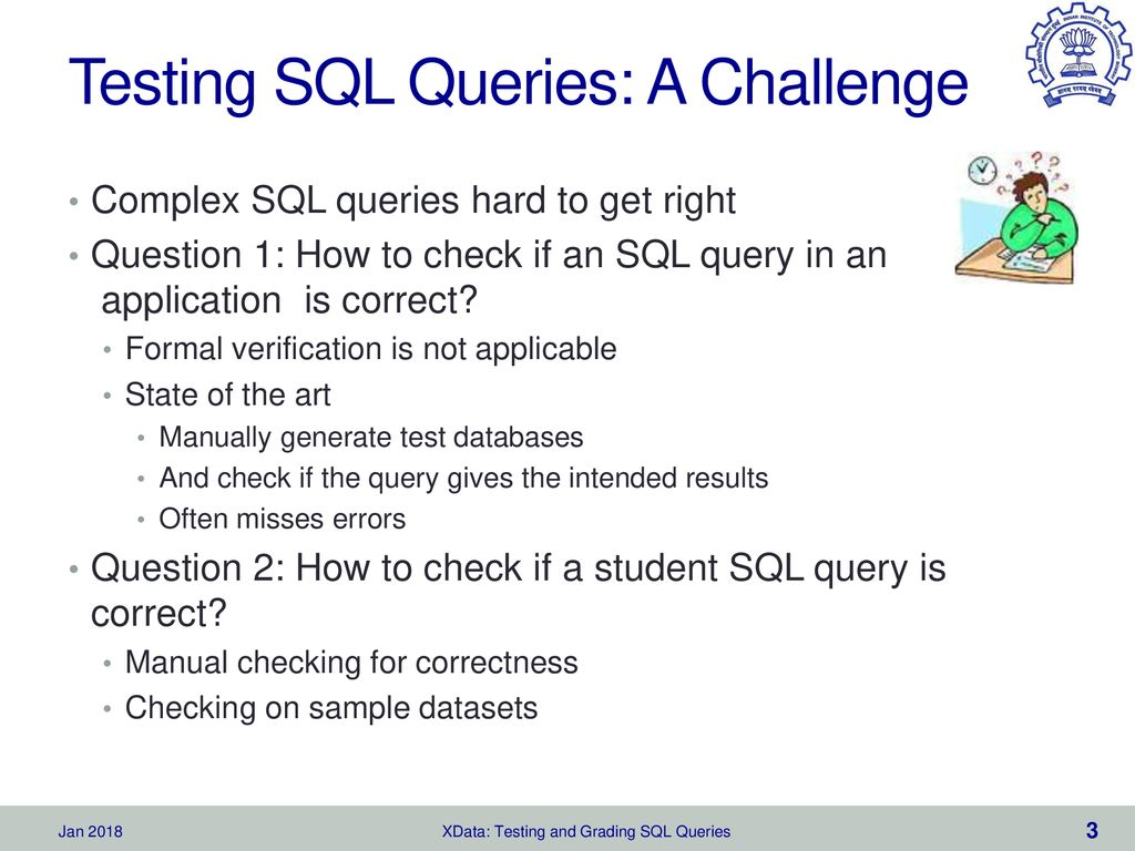 XData: Testing and Grading SQL Queries - ppt download