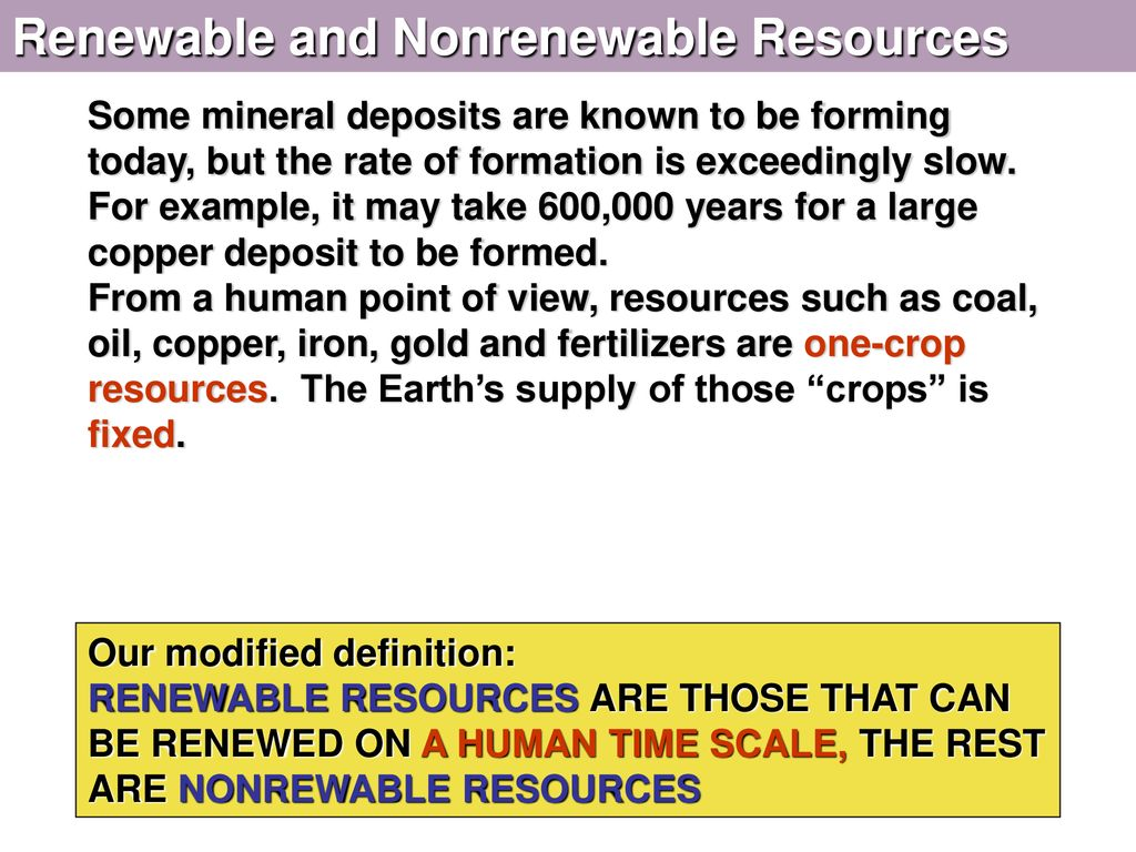 module 25 mineral and energy resources - ppt download