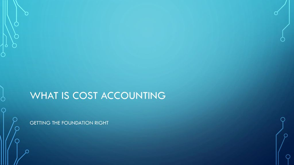 AAT Level 3: Management Accounting: Costing - ppt download