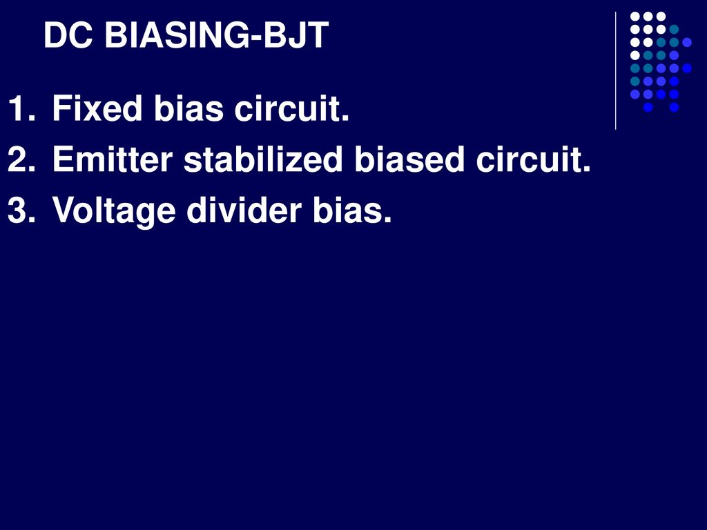 The Currents Of A Bjt Collector Current Base Ppt Voltage Divider Bias Circuit 10 Dc Biasing Fixed Emitter Stabilized Biased