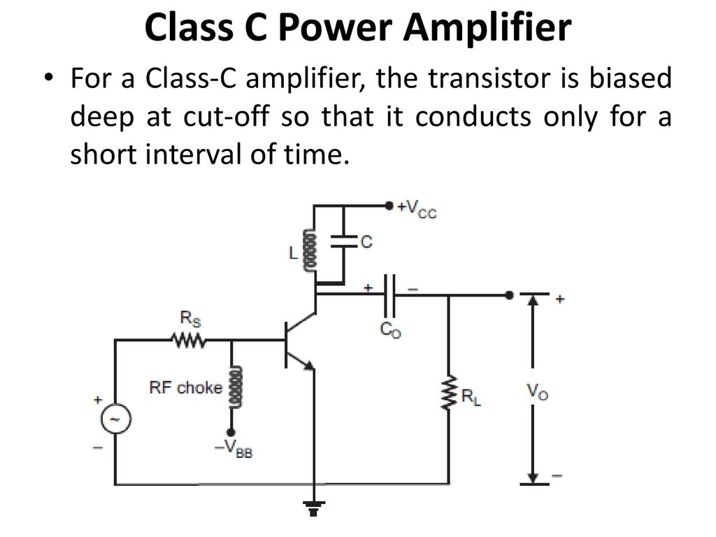 34 Class C Power Amplifier