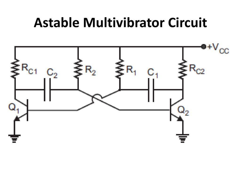 Power Amplifiers Multivibrators Ppt Download Astable Multivibrator Circuit 38