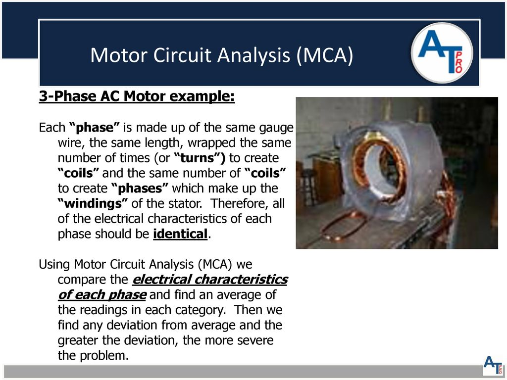 Atp Motor Health Presentation Ppt Download Ac Circuit 13